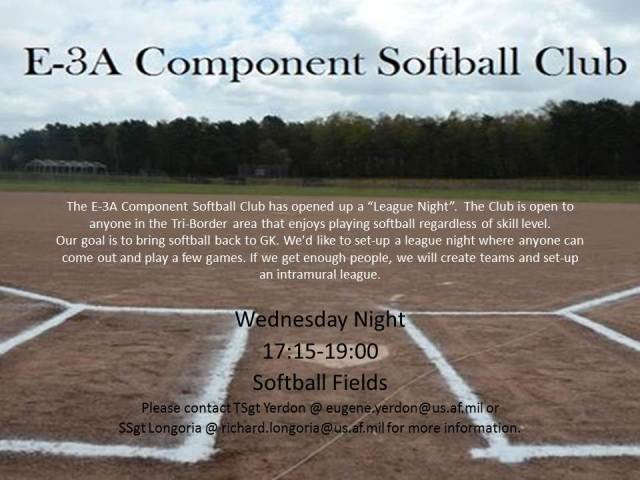 E-3A Component Softball Club