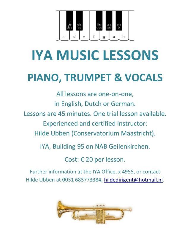 IYA MUSIC LESSONS
